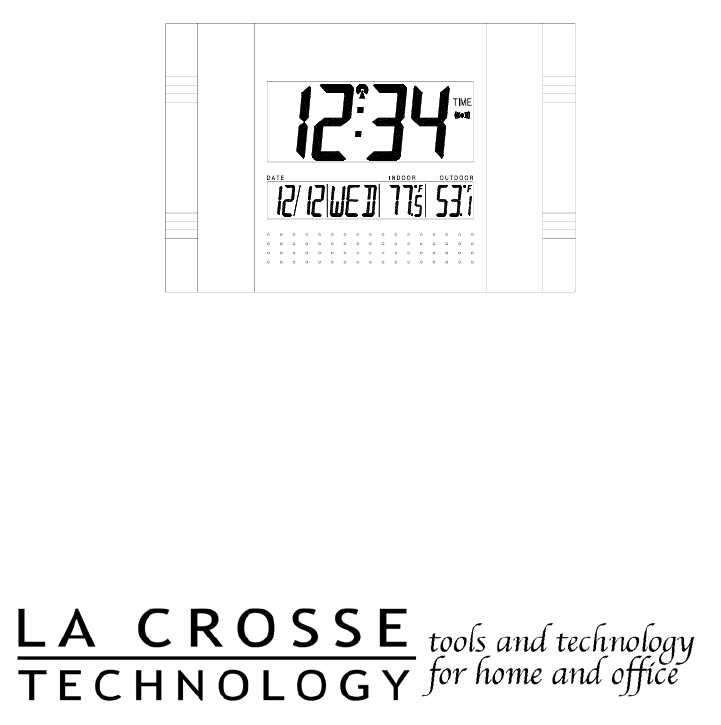 La Crosse Technology Clock WS-8011UM User Guide