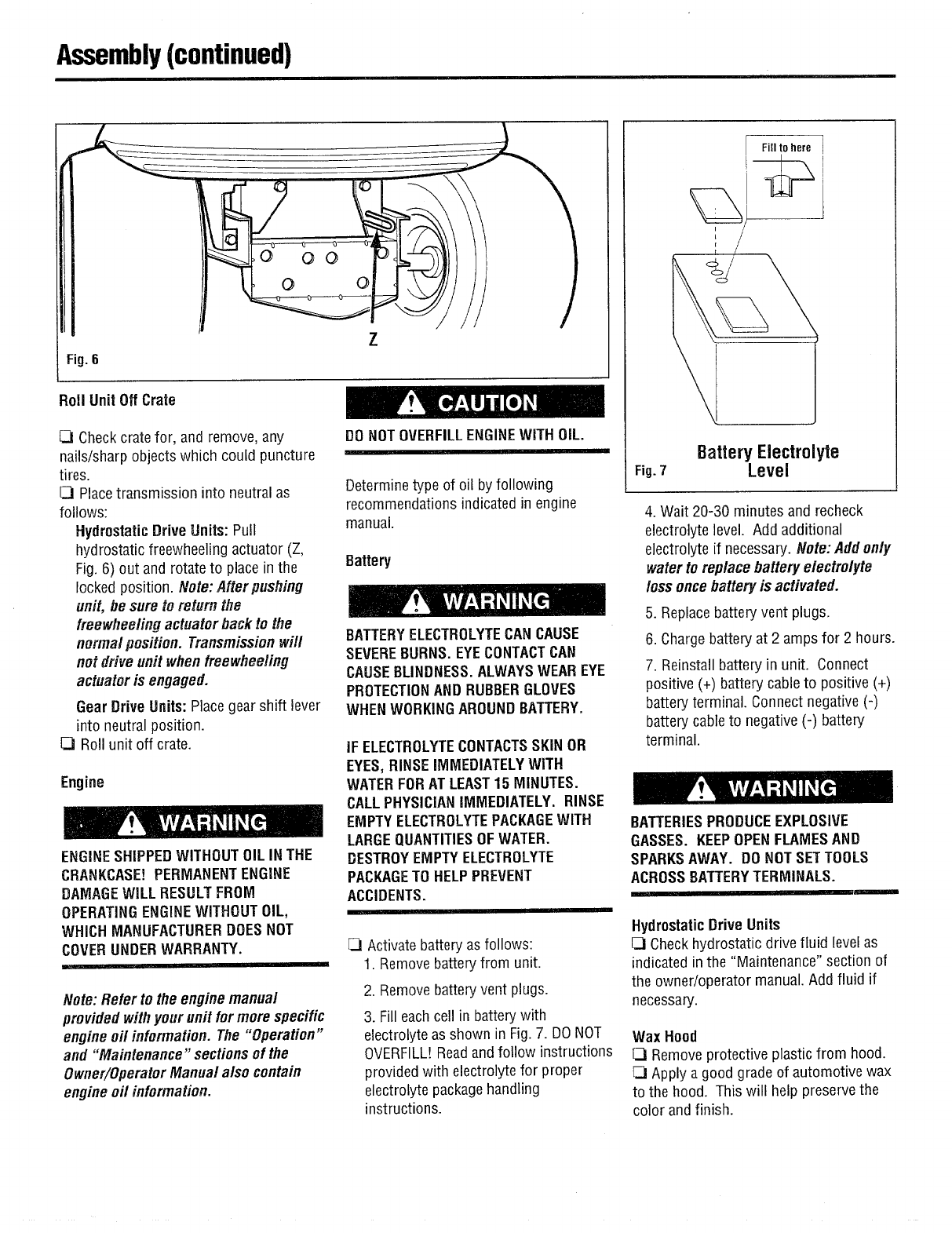 Page 4 of Troy-Bilt Lawn Mower 13040-18HP User Guide