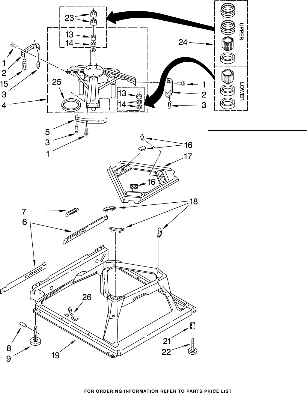 Page 8 of Whirlpool Washer LXR7133JQ1 User Guide