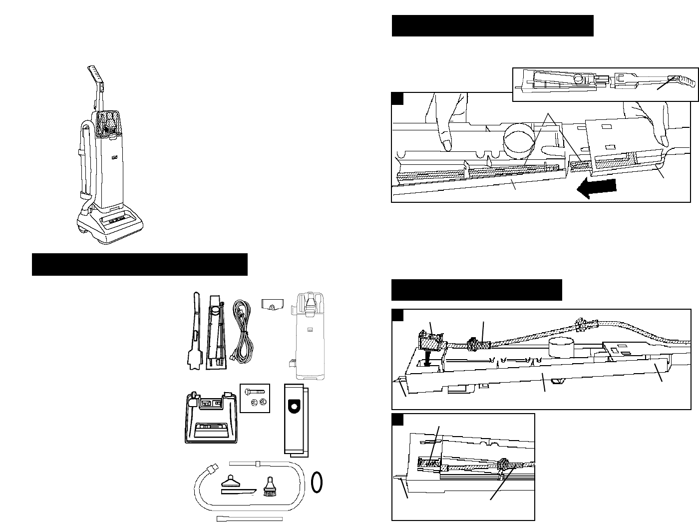 Page 3 of Hoover Vacuum Cleaner Supreme User Guide