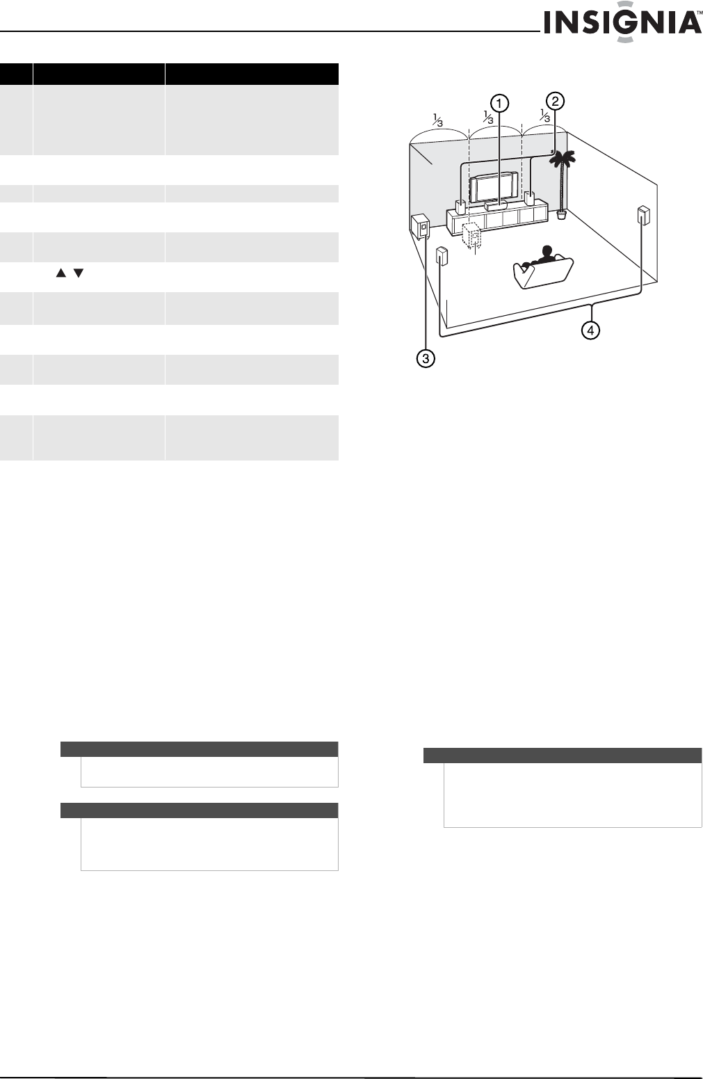 Page 9 of Insignia Home Theater System NS-AV511 User Guide