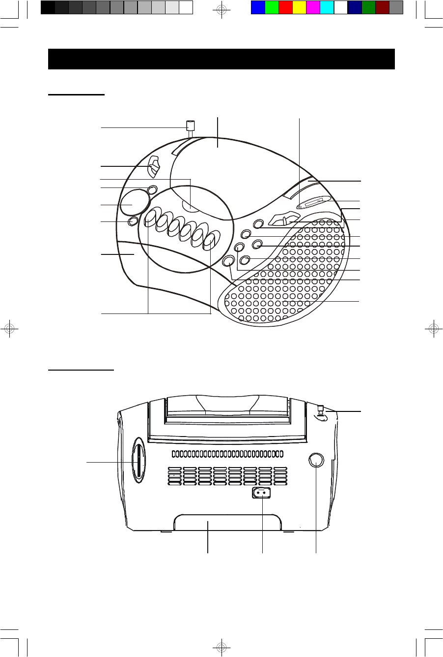 Page 8 of Emerson CD Player PD6922 User Guide