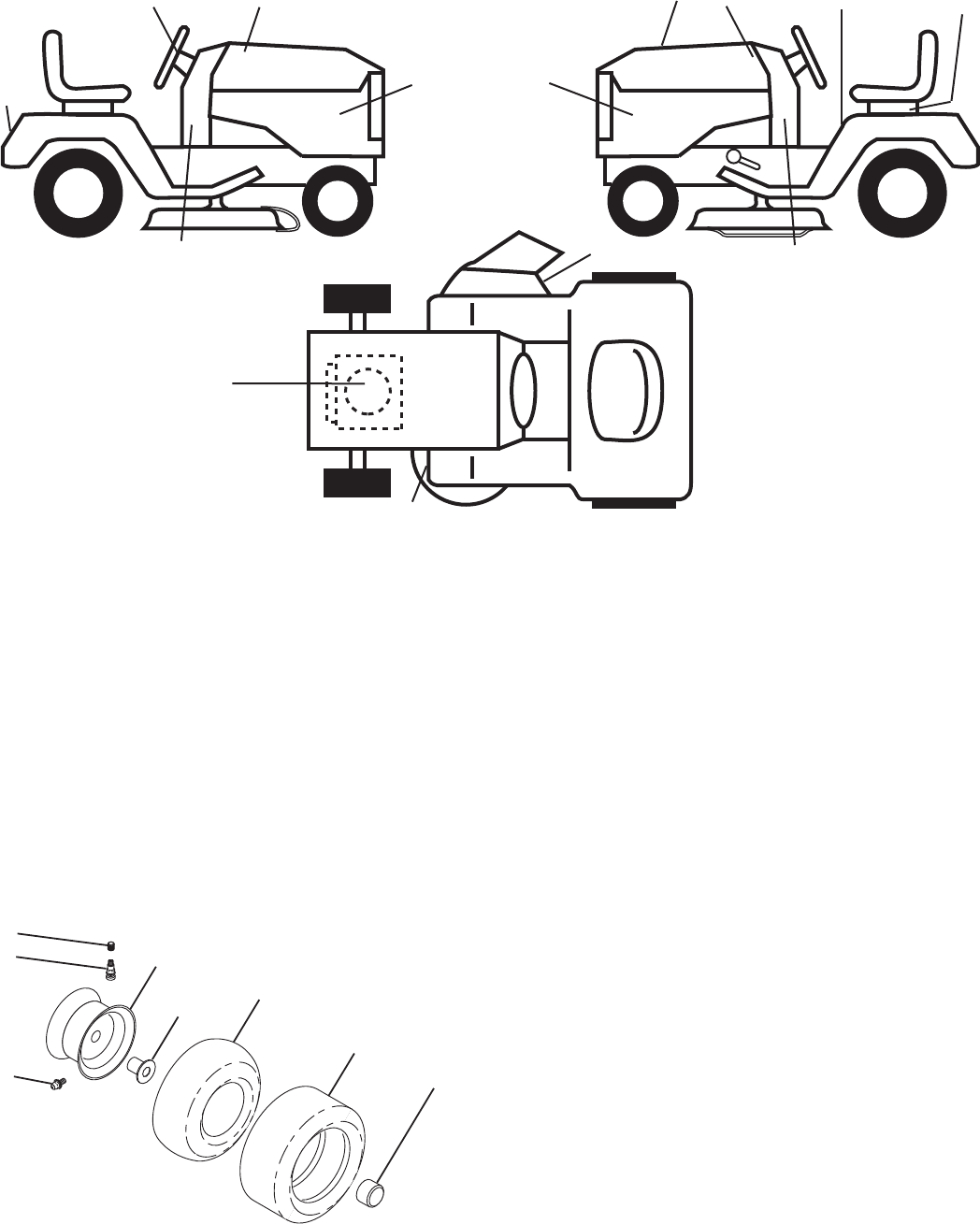 Page 2 of Poulan Lawn Mower XT18542LT User Guide