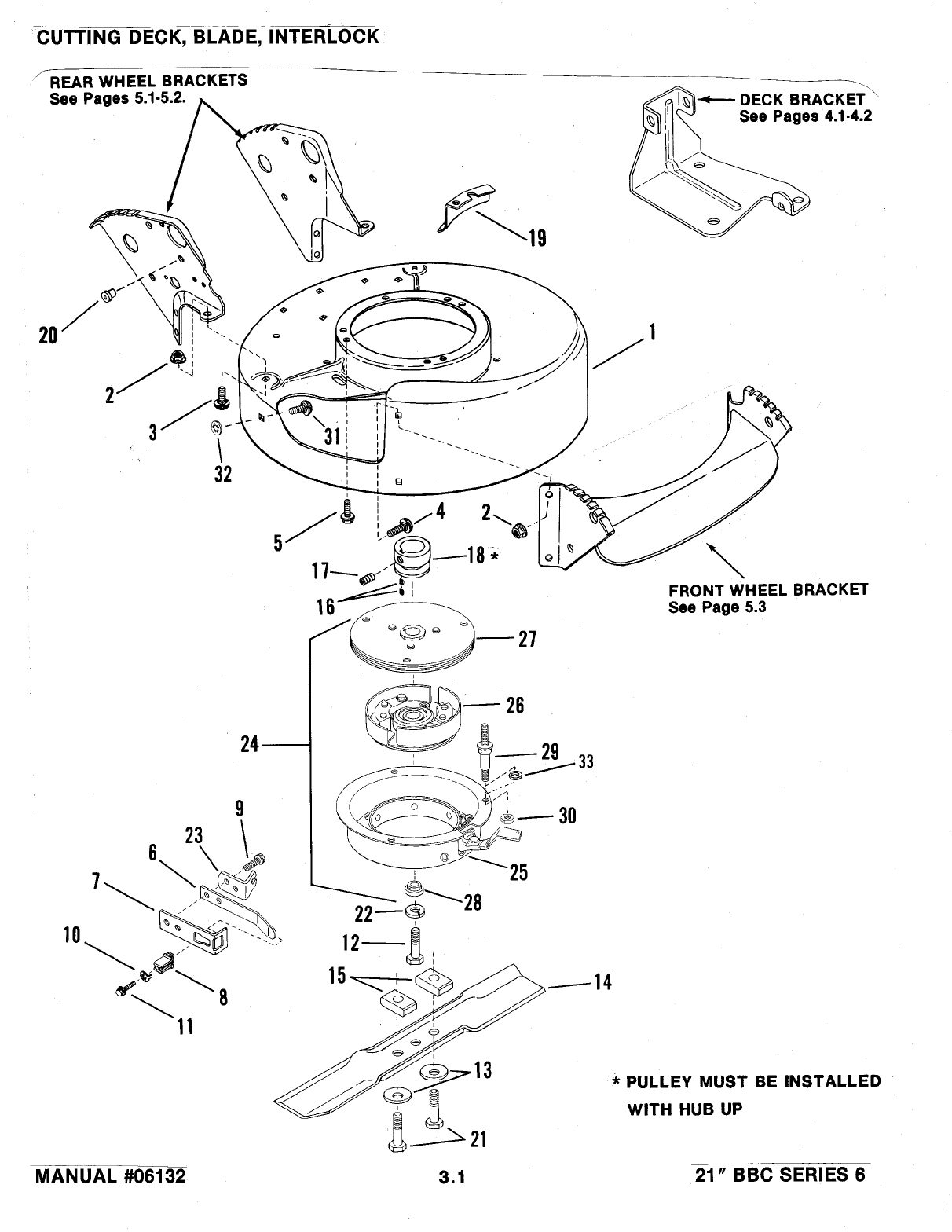 Page 6 of Snapper Lawn Mower 06132 User Guide