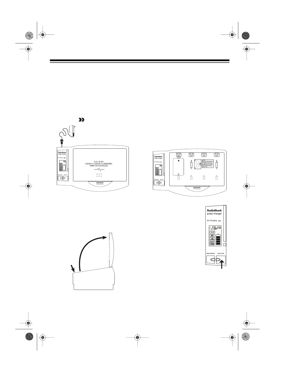 Page 5 of Radio Shack Battery Charger 23-410 User Guide