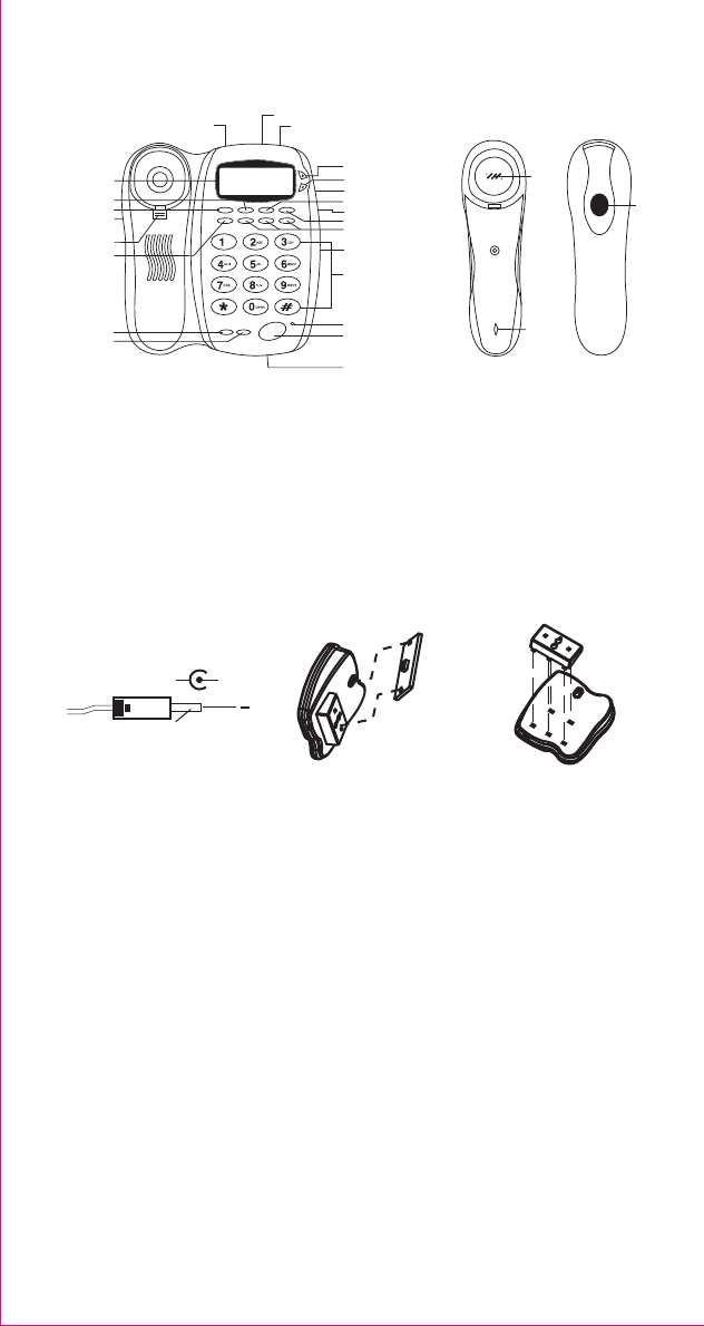 Page 2 of Curtis Telephone TID991 User Guide