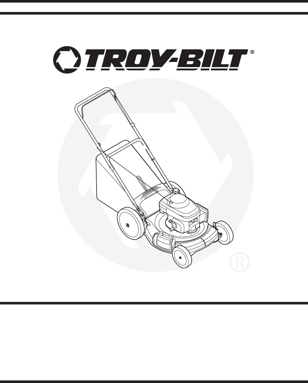 Troy Bilt Lawn Mower 540 User Guide