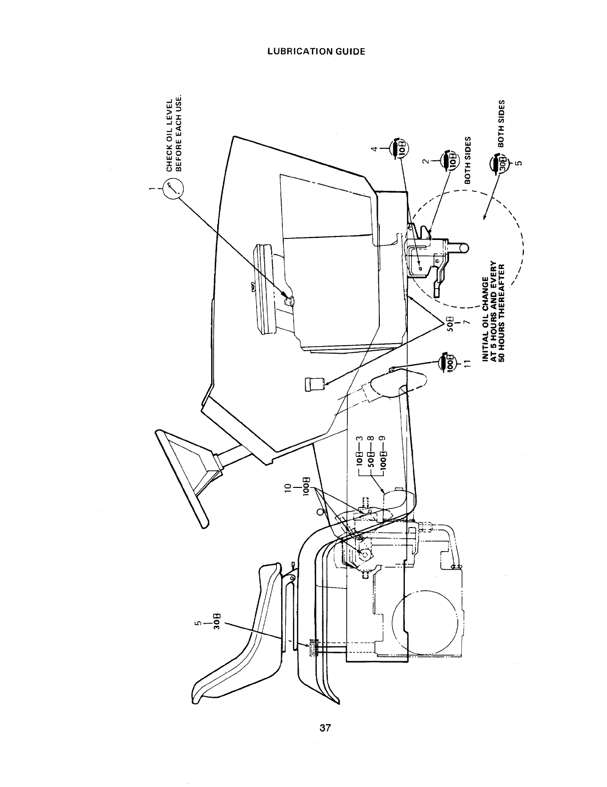 Page 37 of Cub Cadet Lawn Mower 1541 User Guide