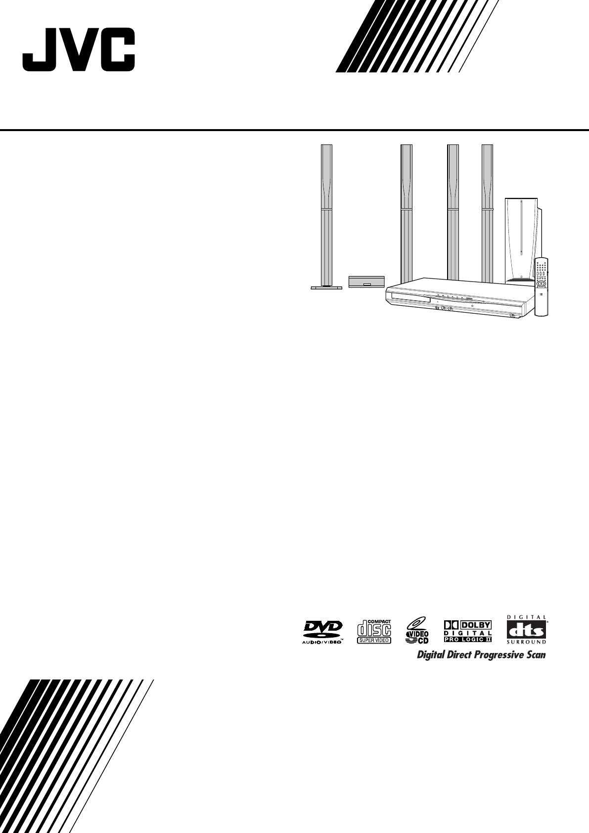 JVC Home Theater System XV-THS77 User Guide