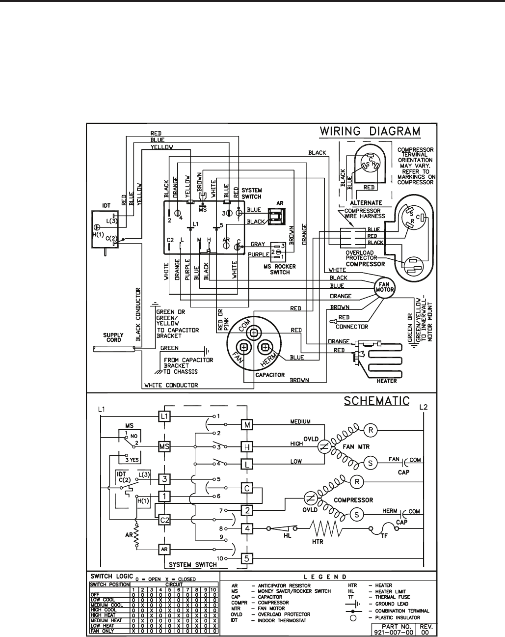 Page 56 of Friedrich Air Conditioner 2009 User Guide