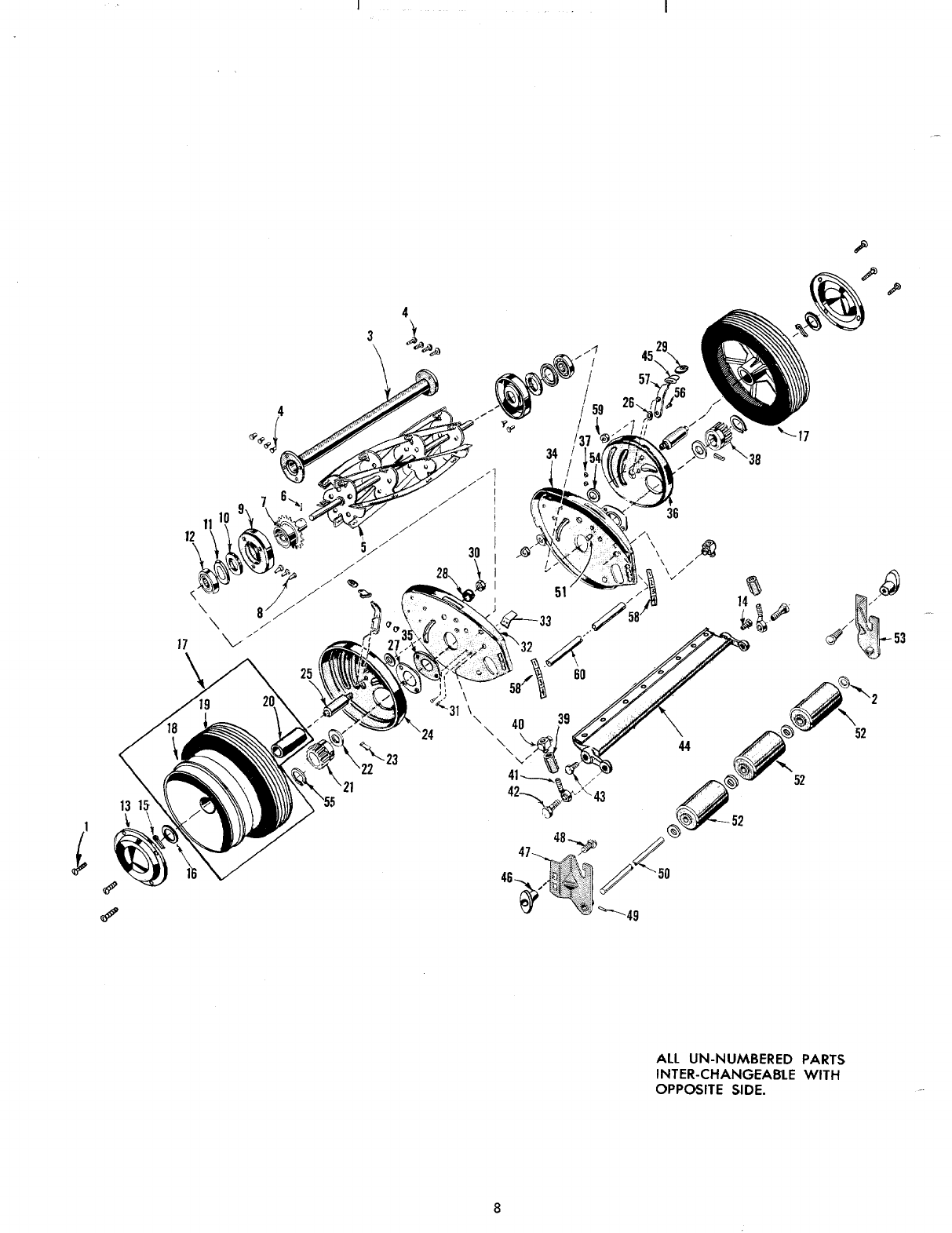 Page 8 of MTD Lawn Mower 10710-0 User Guide