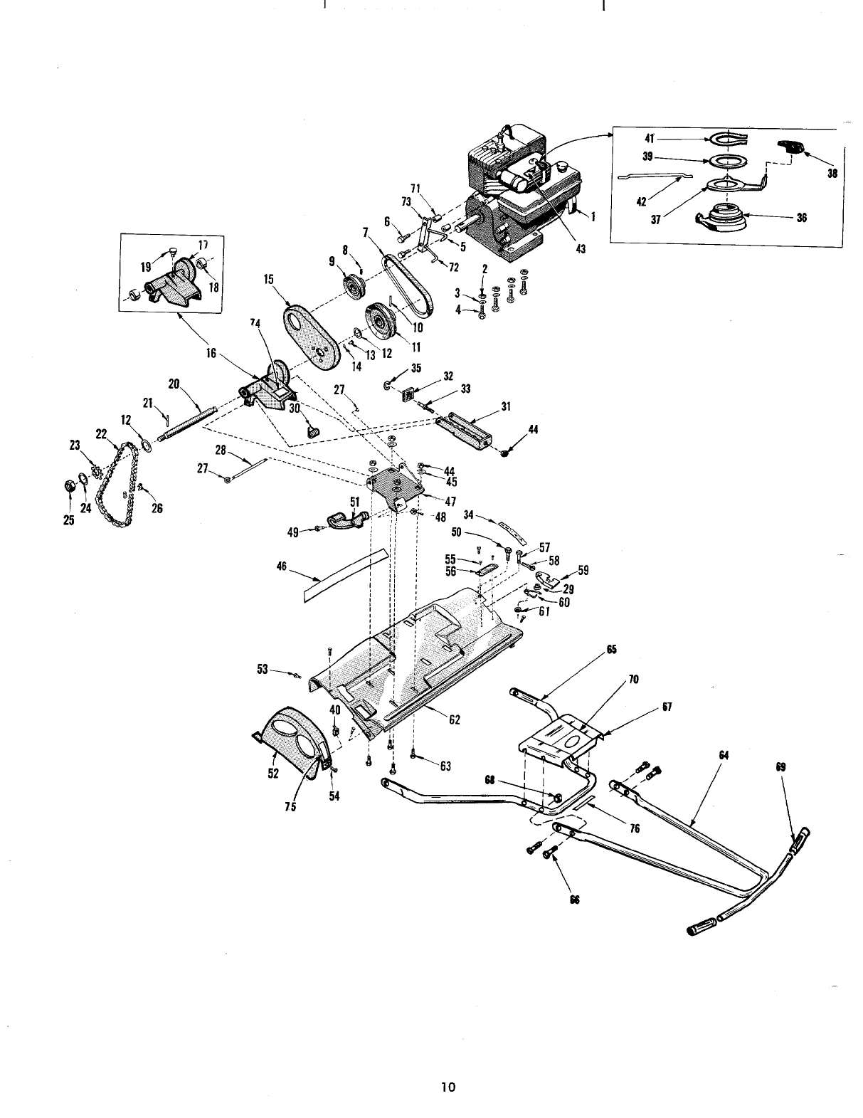 Page 10 of MTD Lawn Mower 10710-0 User Guide