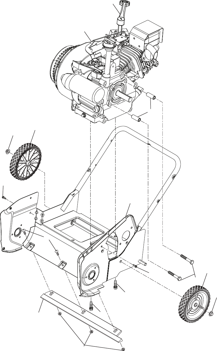 Page 24 of McCulloch Snow Blower MC621ES User Guide