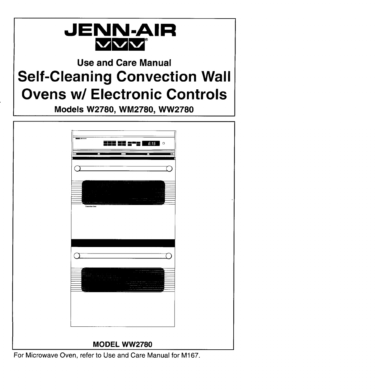 Jenn Air Convection Oven W User Guide