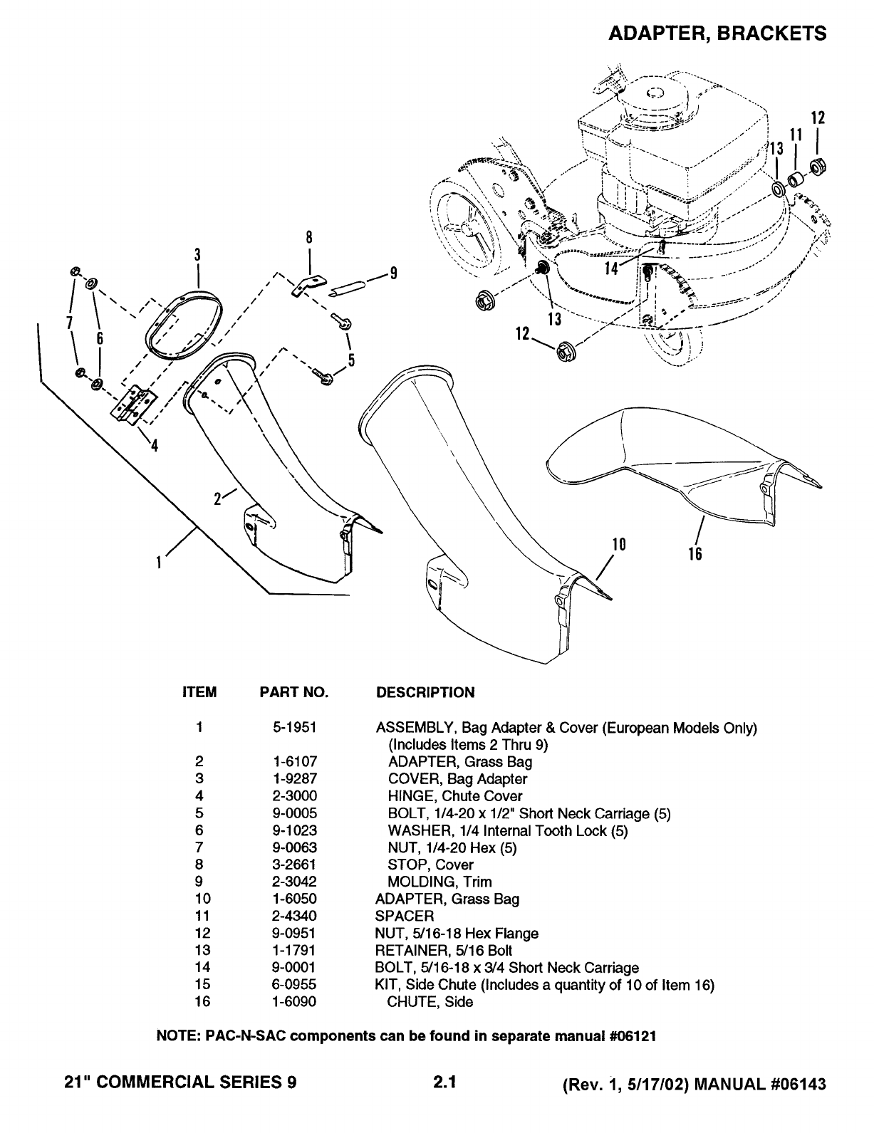 Page 5 of Snapper Lawn Mower Series 9 User Guide