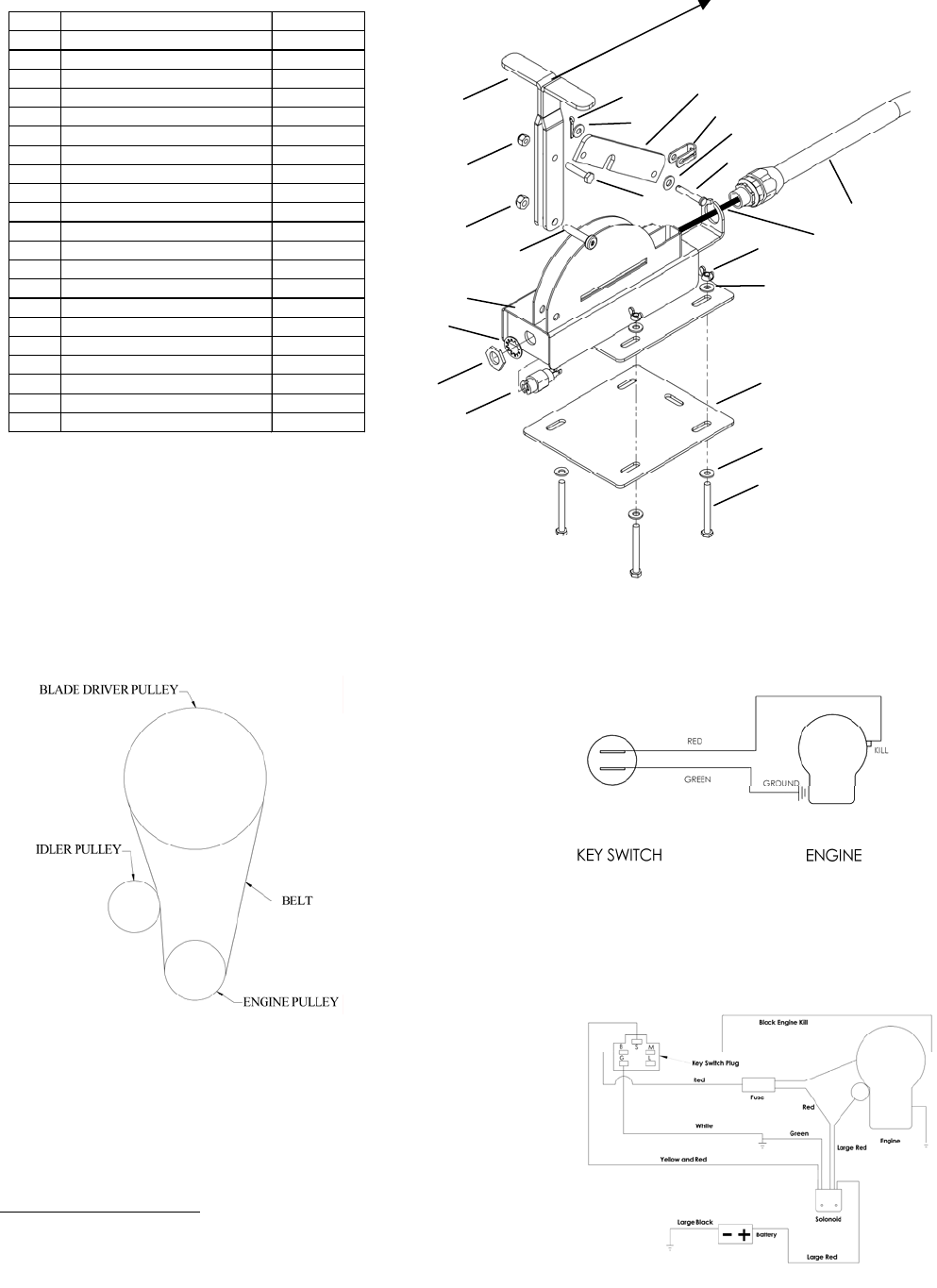 Page 14 of Swisher Lawn Mower RTB14544 User Guide