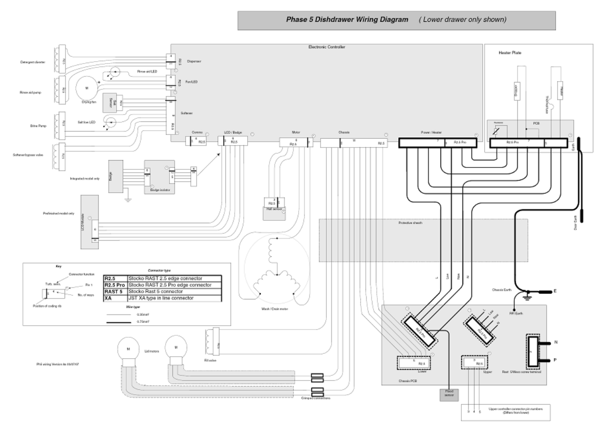 hight resolution of 5 2 wiring diagram page 39 of fisher paykel dishwasher ds605 user guide
