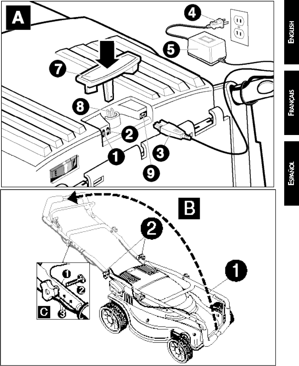 Page 19 of Black & Decker Lawn Mower 598968-00 User Guide