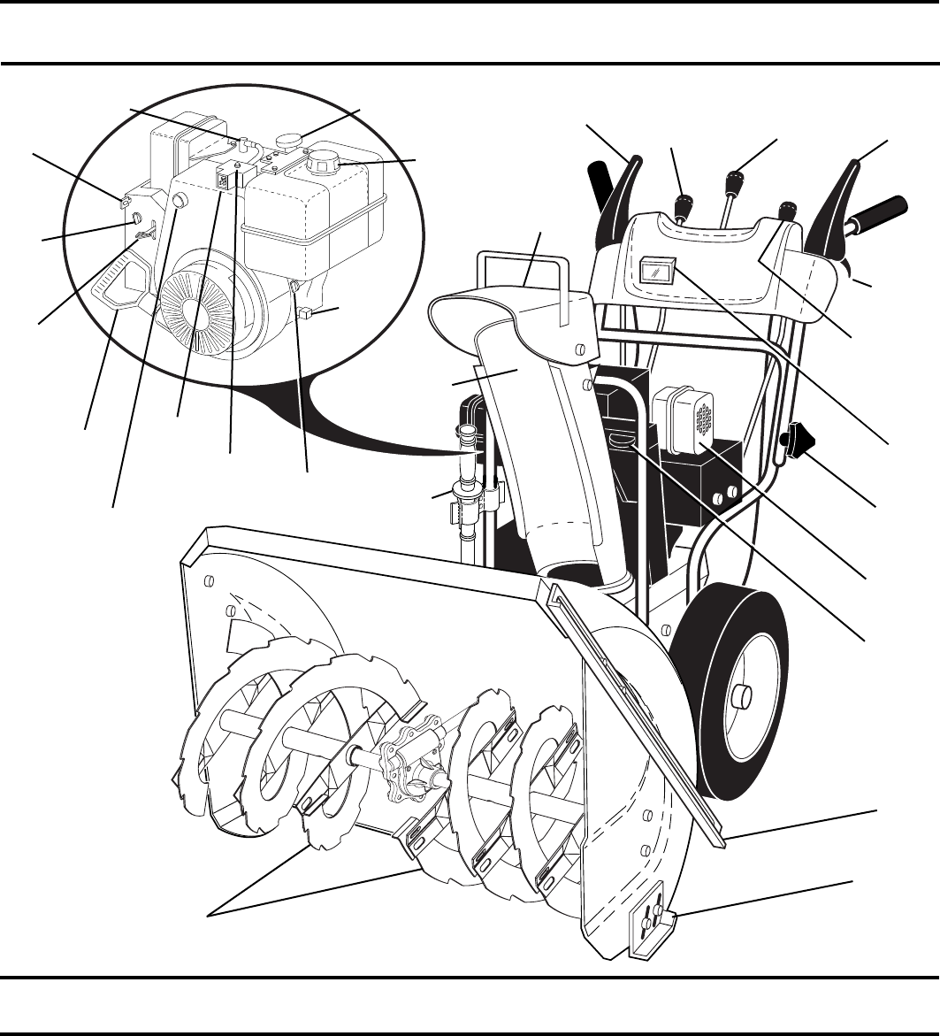 Page 9 of Yard Machines Snow Blower 961940001 User Guide