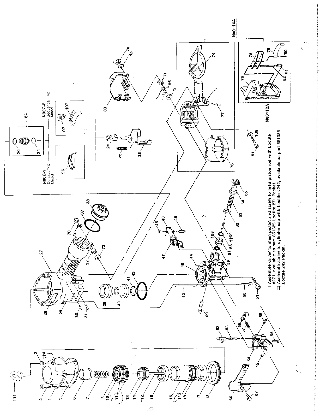 Page 12 of Bostitch Nail Gun N80C User Guide
