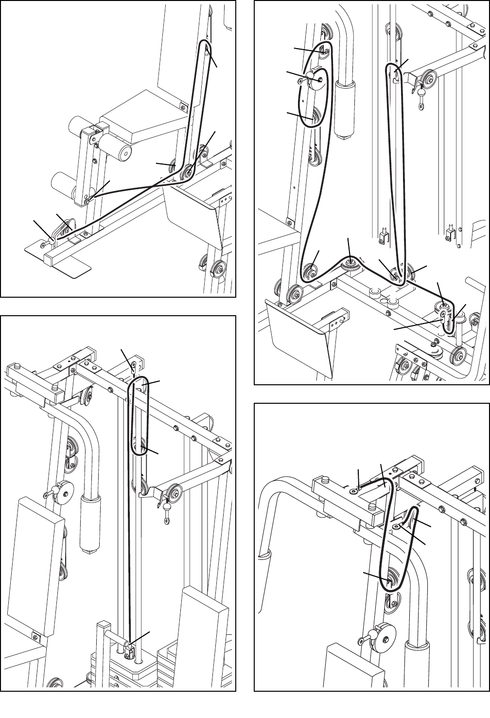 Page 31 of Weider Home Gym 831.159830 User Guide