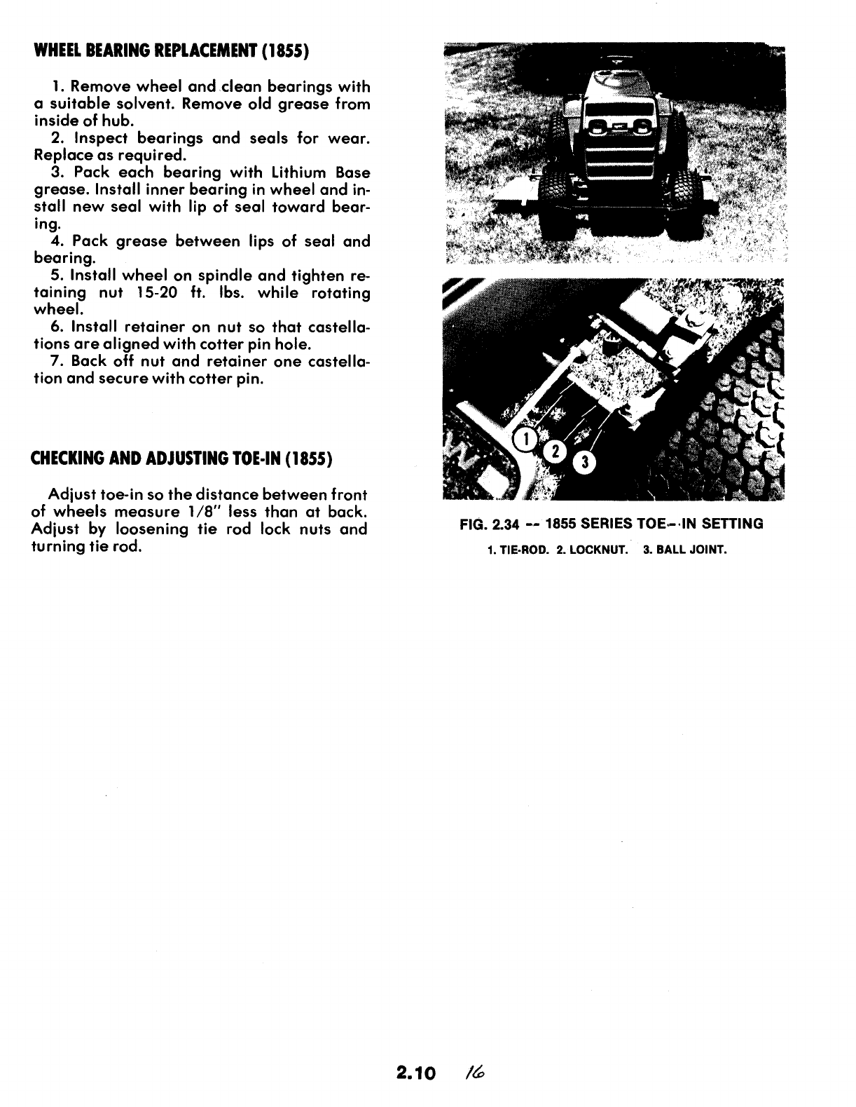 Page 16 of Snapper Lawn Mower 1600, 1650, 1855 Series User