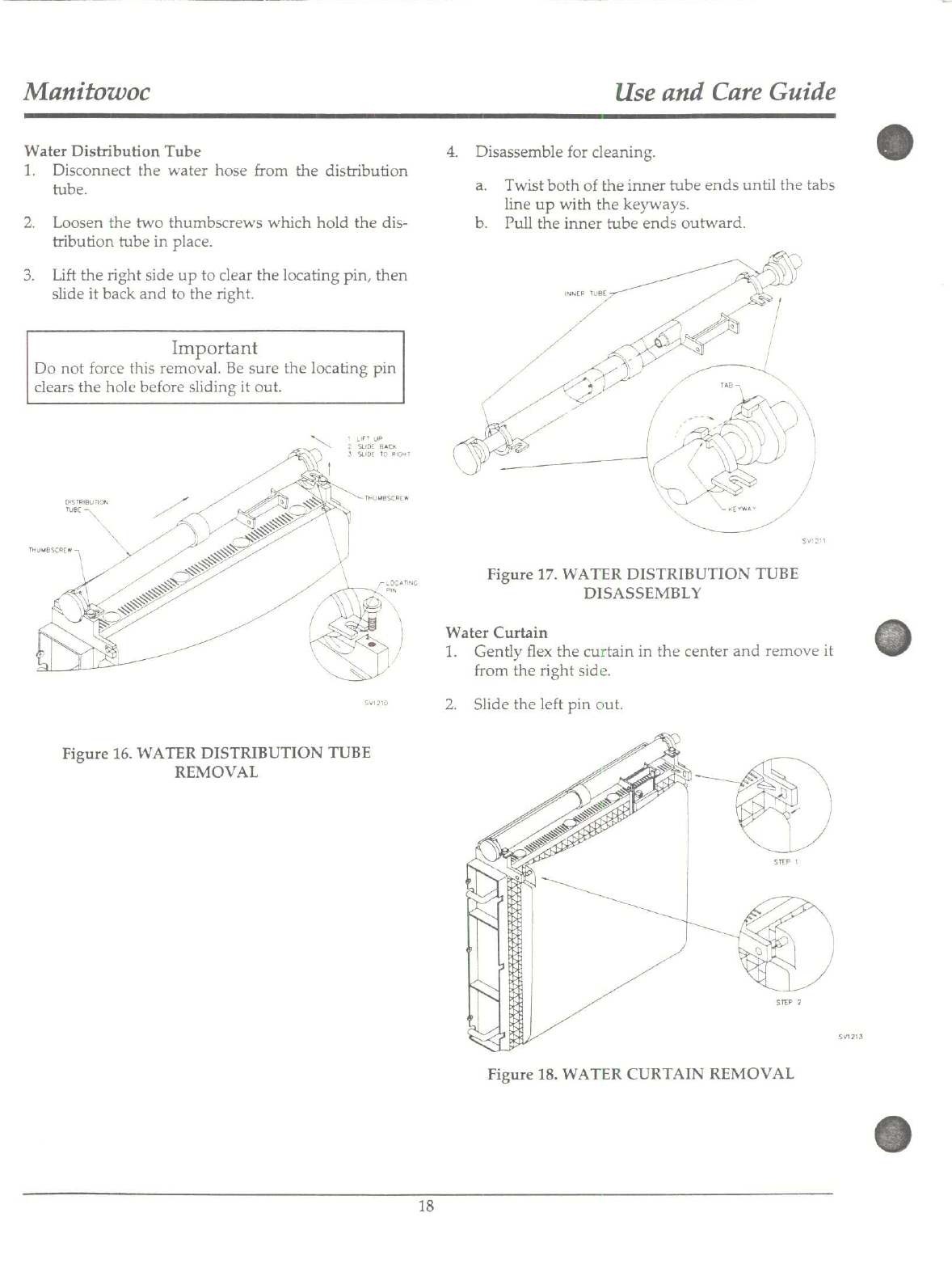 Page 18 of Manitowoc Ice Ice Maker B200 User Guide