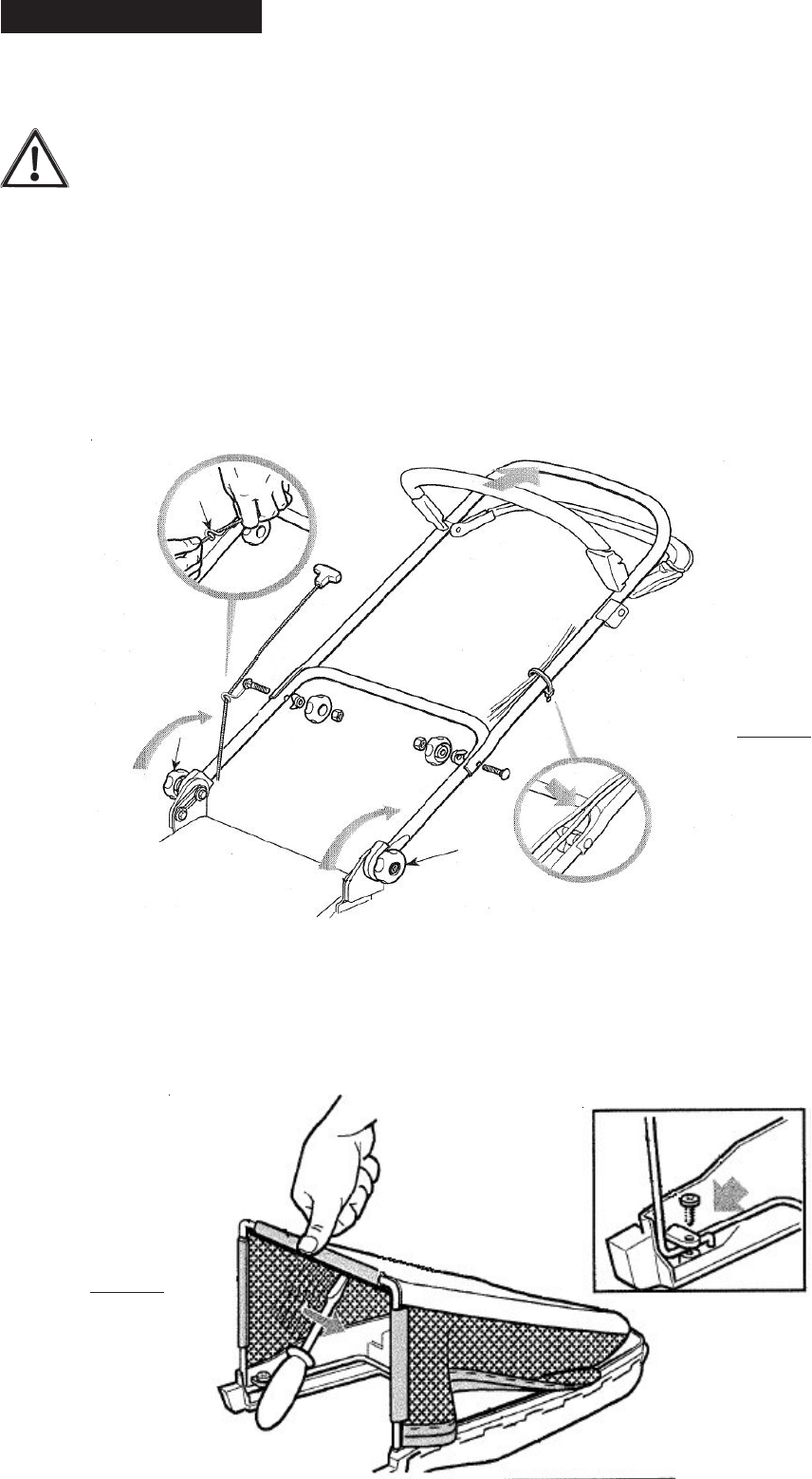 Page 4 of Mountfield Lawn Mower SP474 User Guide