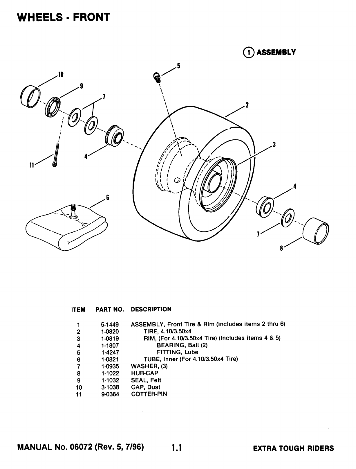 Page 4 of Snapper Lawn Mower 33115SC User Guide