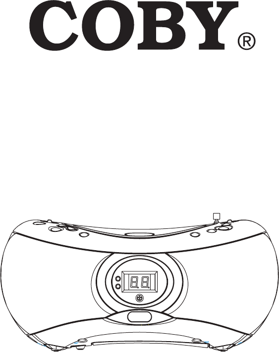 COBY electronic Portable CD Player CX-CD236 User Guide