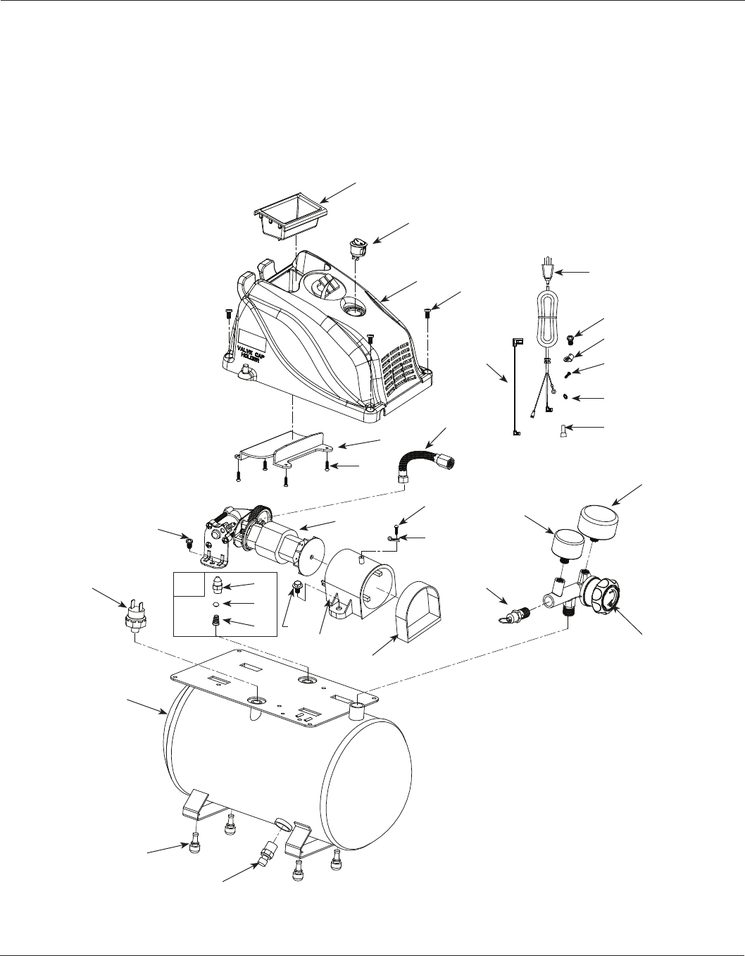 Page 8 of Campbell Hausfeld Air Compressor FP2603 User