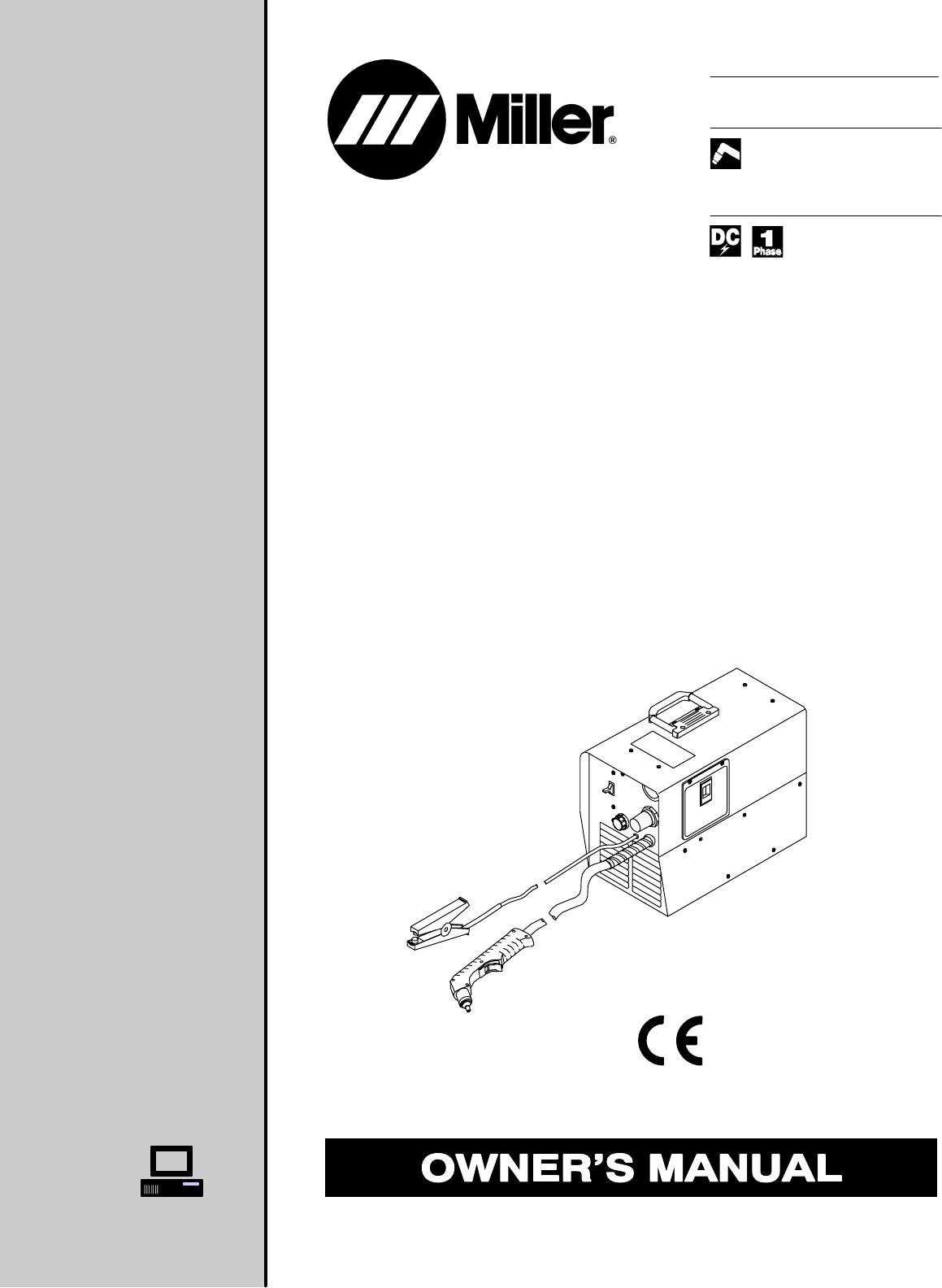 Miller Electric Welder 375 User Guide