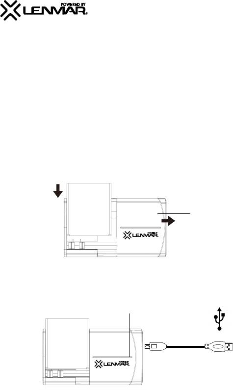 Lenmar Enterprises Battery Charger BCULI374 User Guide