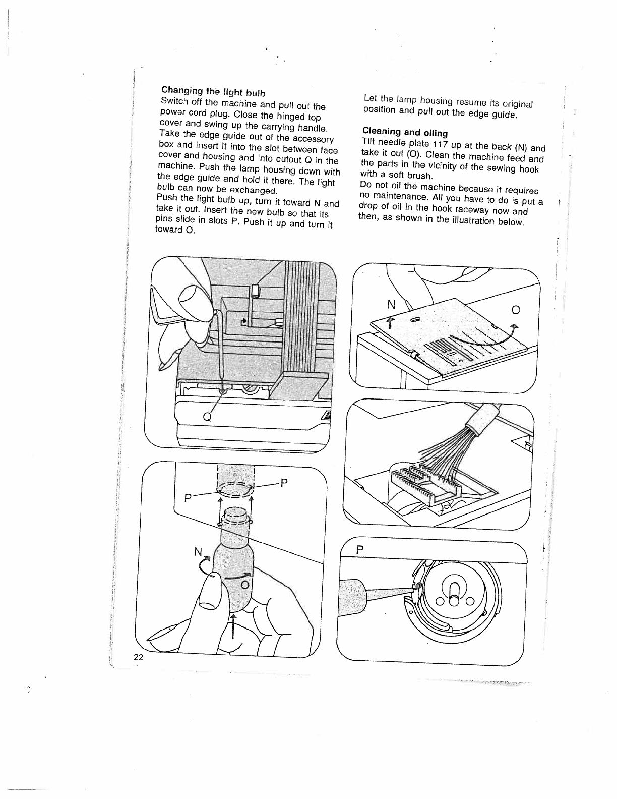 Page 26 of Pfaff Sewing Machine 1019 User Guide