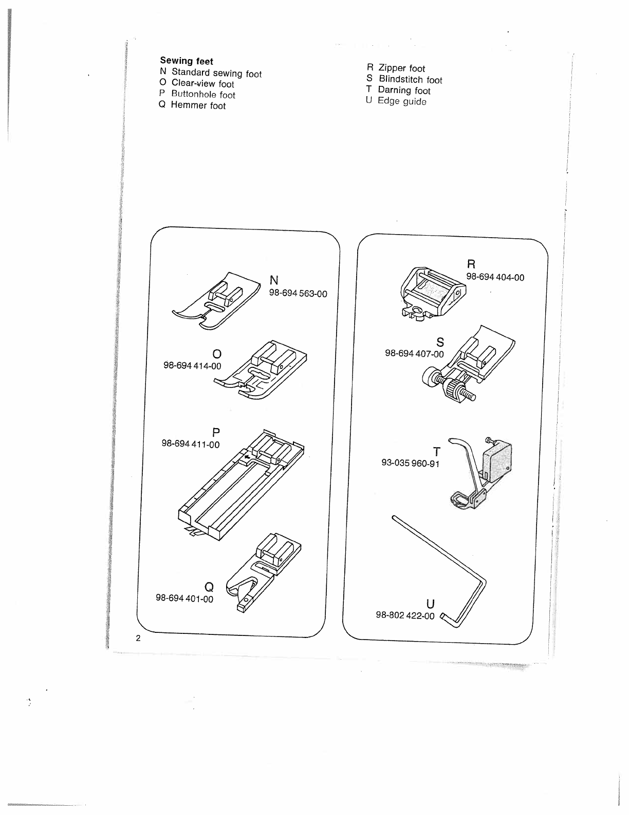 Page 6 Of Pfaff Sewing Machine User Guide