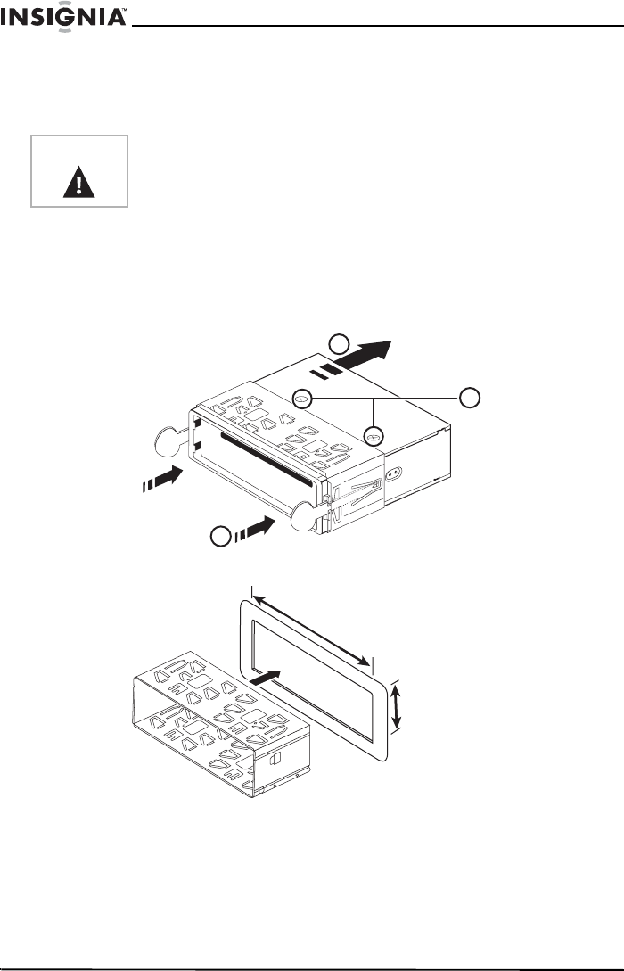 Page 11 of Insignia Car Stereo System NS-C5111 User Guide