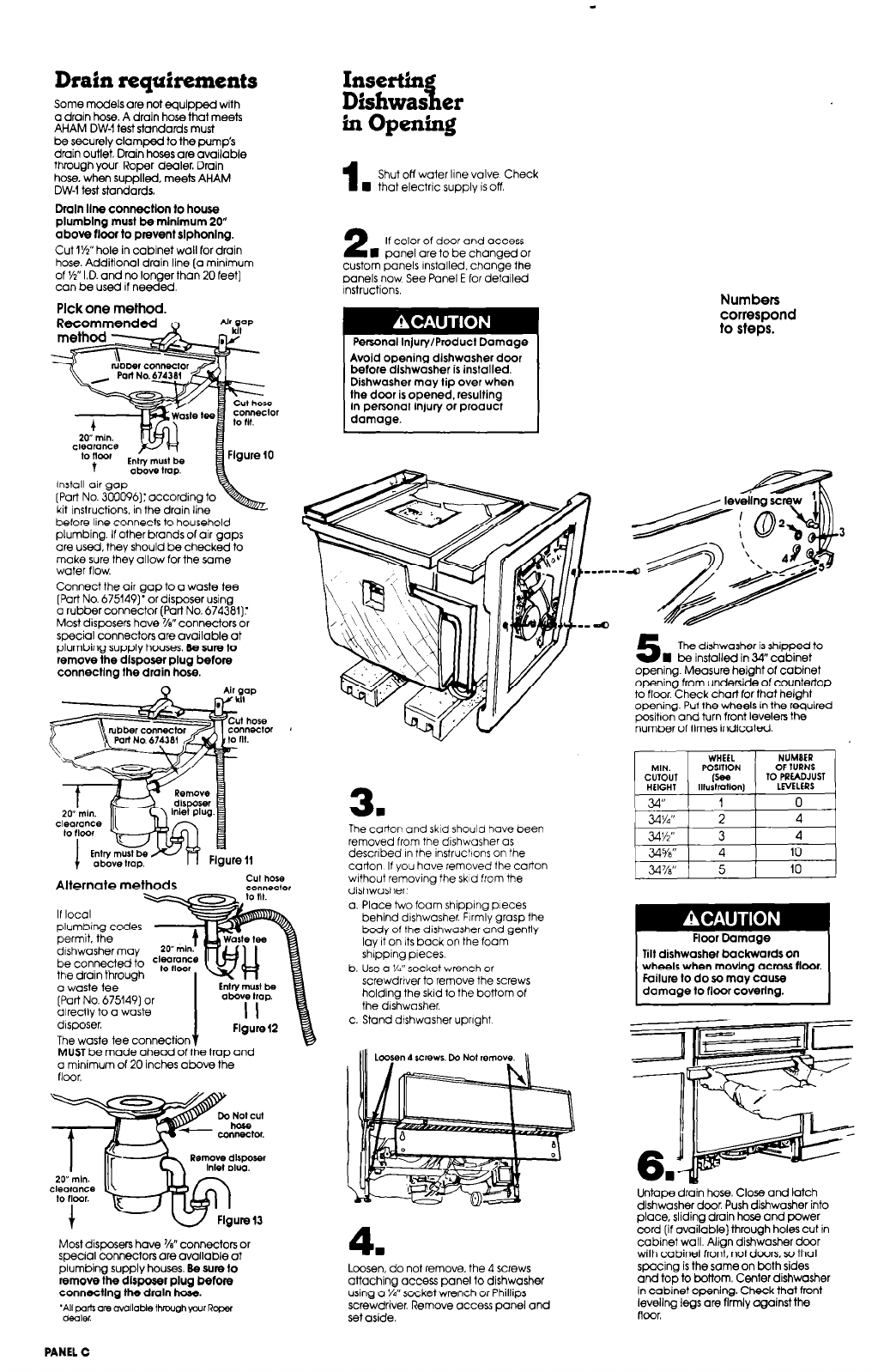 hight resolution of roper dishwasher dishwasher user manual