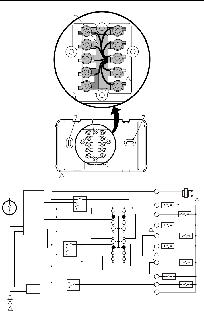 Page 3 of Honeywell Thermostat T8011R User Guide
