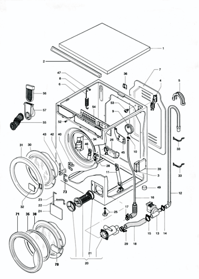 Page 20 of Equator Washer/Dryer EZ 3600 C/CEE User Guide