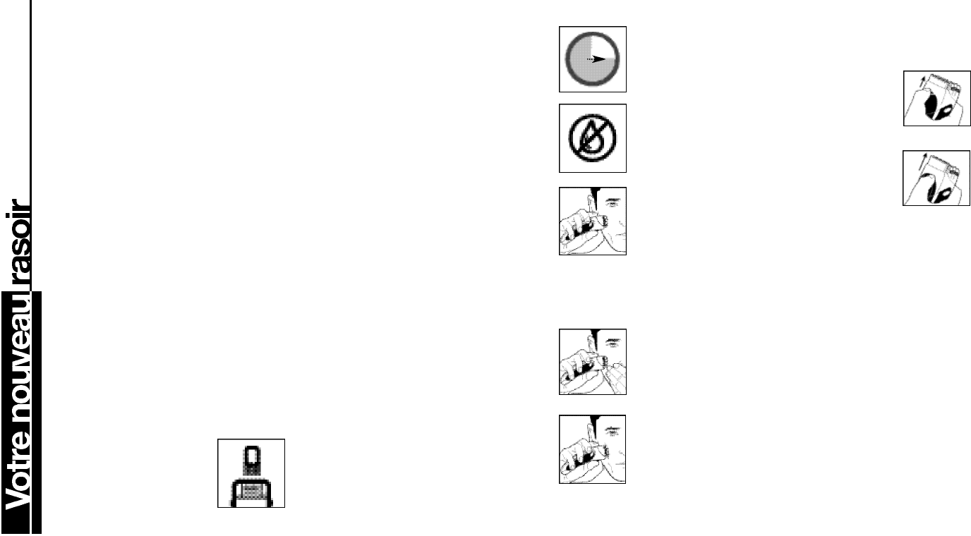 Page 8 of Remington Electric Shaver MS3-2000 User Guide