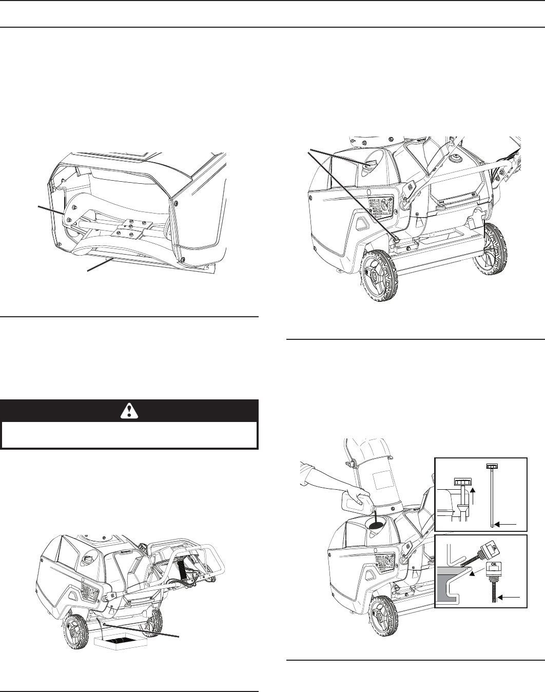 Page 13 of Husqvarna Snow Blower ST 151 User Guide
