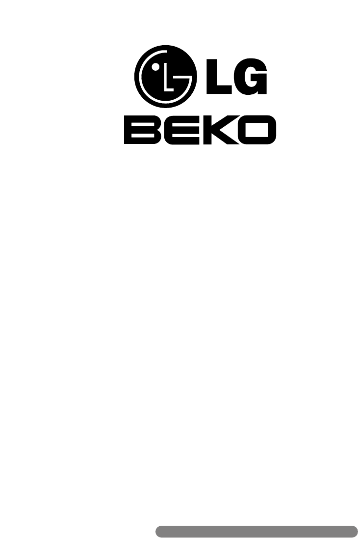 Beko Air Conditioner LG-BKE7650D, LG-BKE7700D User Guide