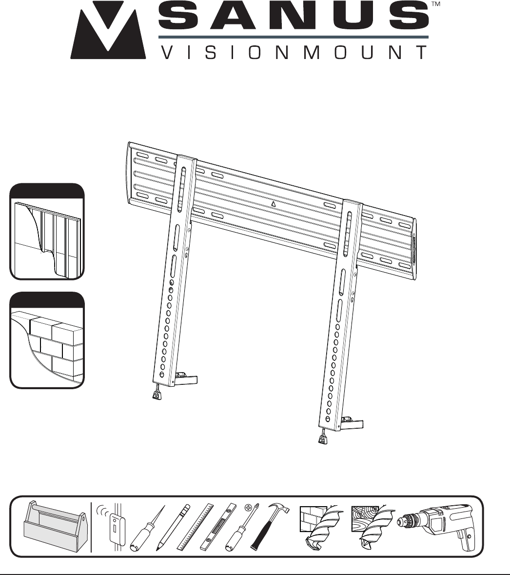 Ssystems Tv Mount Vll10 User Guide