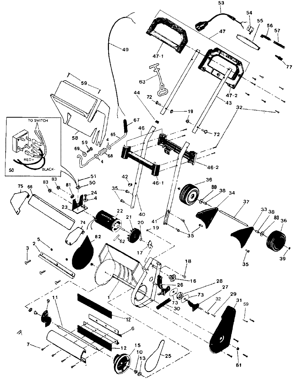Page 12 of Murray Snow Blower 615000x30NA User Guide