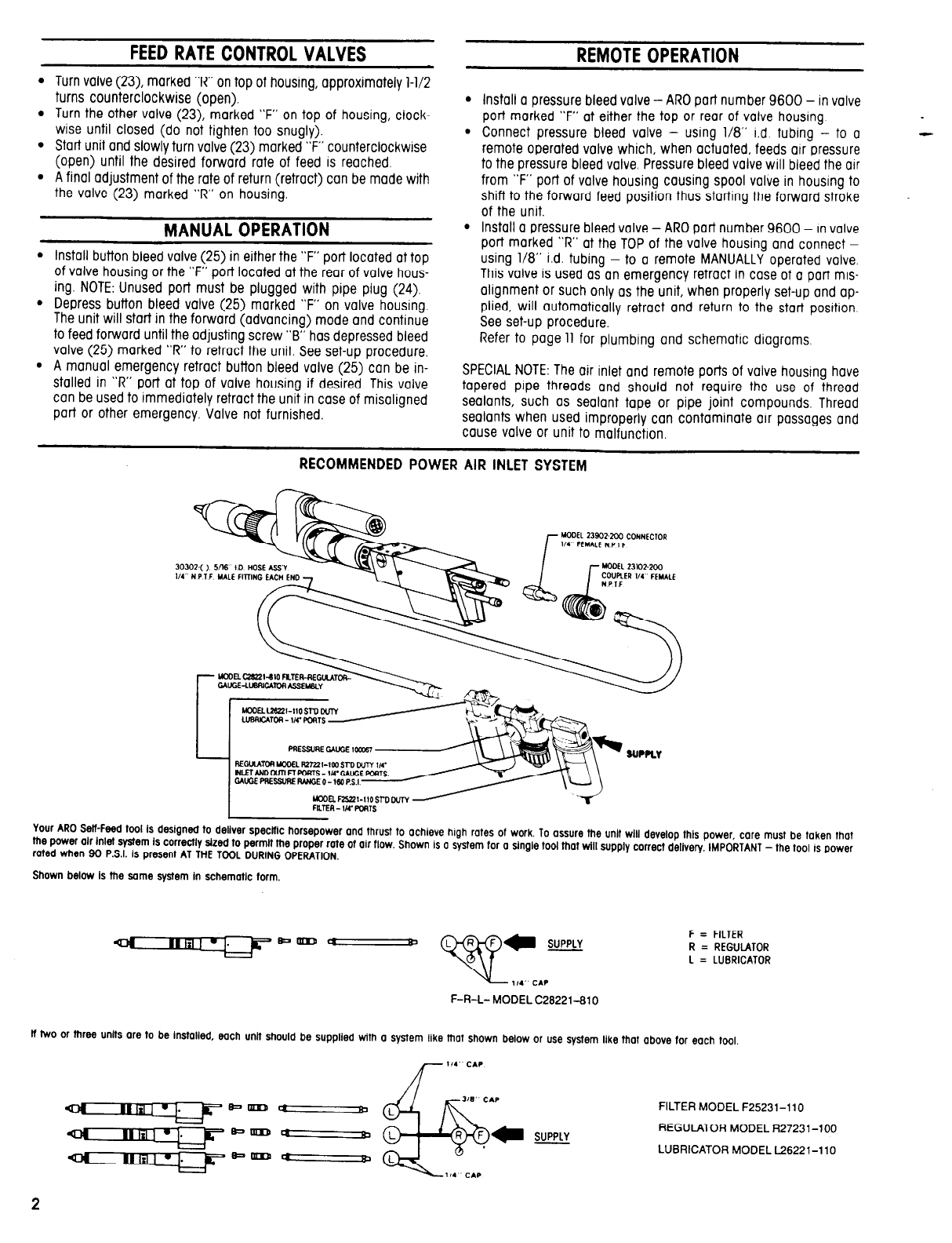 Page 2 of Ingersoll-Rand Power Hammer 8248-B( )-( ) User