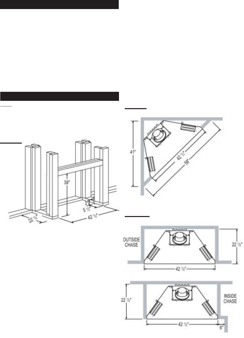 Page 17 of Continental Indoor Fireplace BCDV42N User Guide