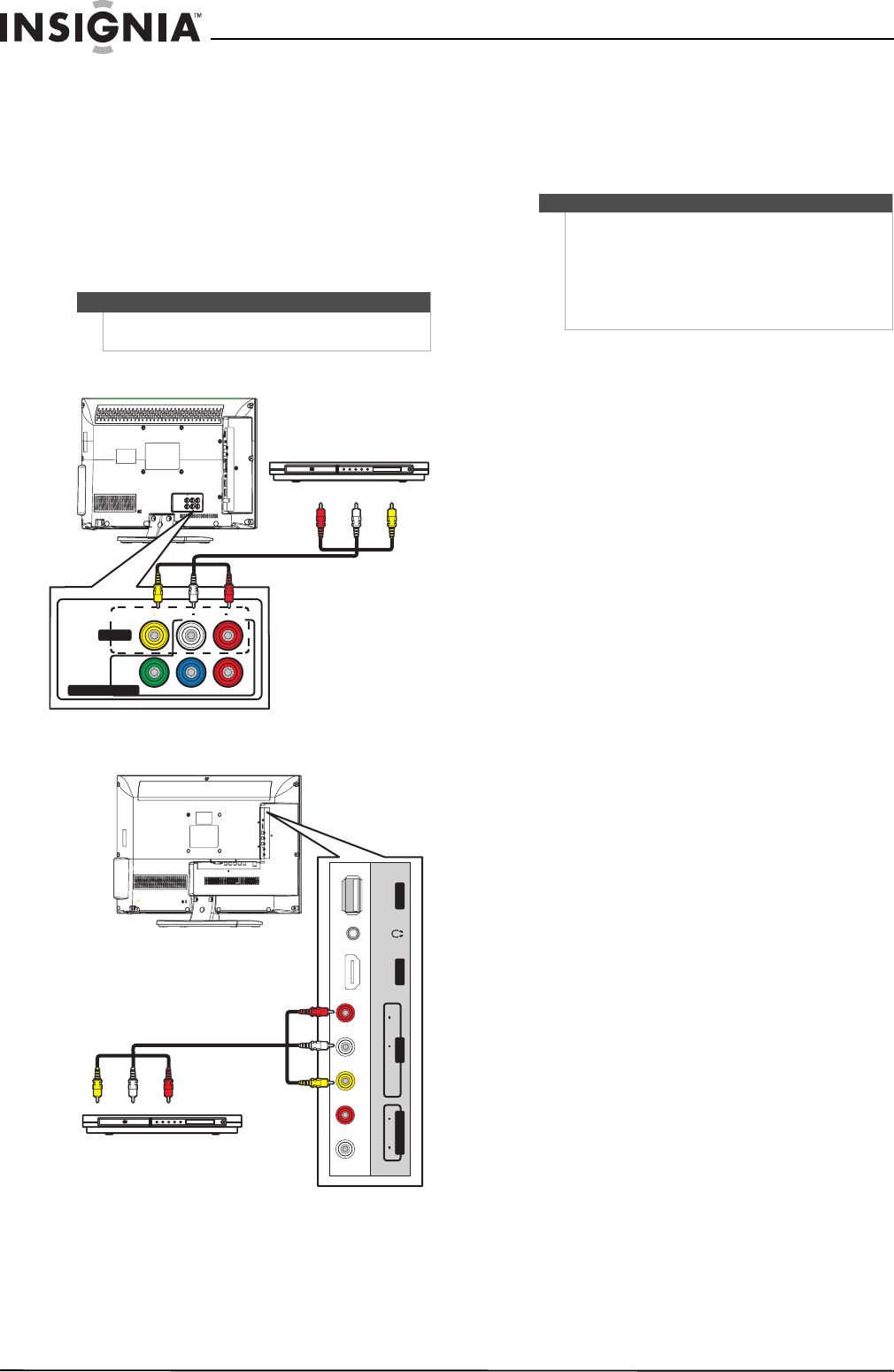 Page 24 of Insignia CRT Television NS-19E720A12 User Guide