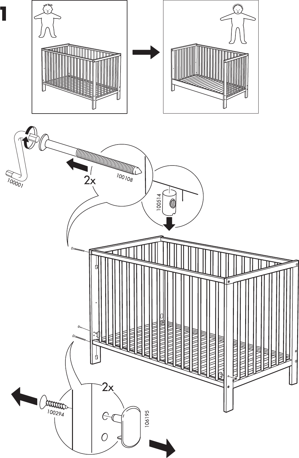 How To Put Together A Jenny Lind Crib. Evenflo Recalls To