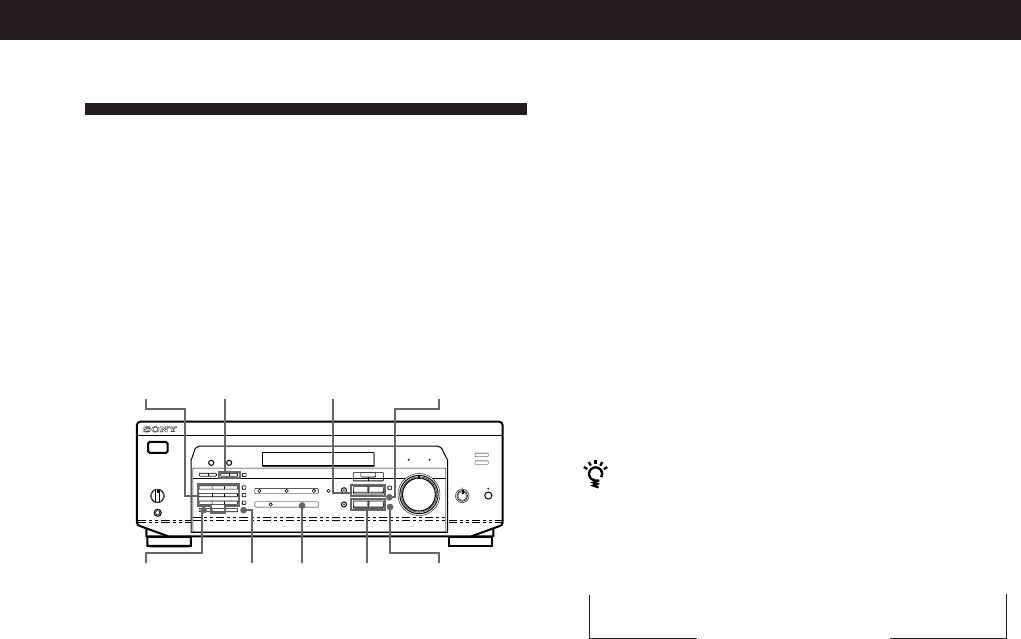 Page 17 of Sony Stereo System STR-DE435 User Guide