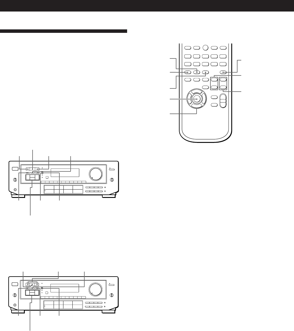 Page 18 of Sony Stereo Receiver STR-DE605 User Guide